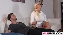 Watch Two busty milfs sharing one dick preview