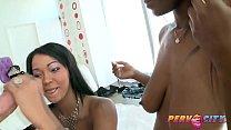 Black sluts give Mike Adriano a Sloppy BJ Thumbnail