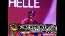 2005 10-31 Wwe Raw_- Divas Halloween Costume Contest - Ashley, Maria, Candice Michelle, Mickie James, Victoria & Trish Stratus Thumbnail