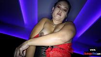 Chubby Thai amateur hottie licking balls blowjo...