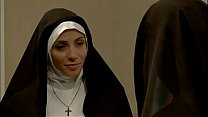 Watch Jasmine Jem & Ariella Ferrera Lesbian Nuns preview