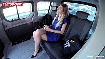 Hot Babe gets Rough Sex with a Czech Taxi Driver - LETSDOEIT.COM's Thumb