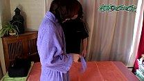 Innocent Japanese Student Pussy Massage
