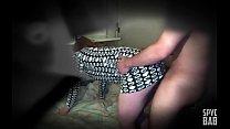 SPYCAM - Hidden camera, 18yo in tiny skirt, fac...