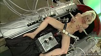 Hot blonde lesbian Lorelei Lee laying with legs...