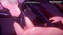 [1080p60fps]Monster Girl Island | Horny anime g...
