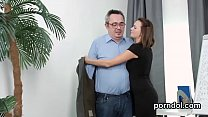 Erotic schoolgirl gets seduced and nailed by he...