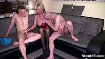 Watch Father and StepSon Seduce German Mother to Sex Togehter in hard 3some preview
