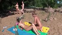 Horny Lesbians Get Freaky At The Beach Thumbnail