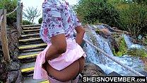 Erotic 4k HD Msnovember Naked Ebony Butt Flashi...