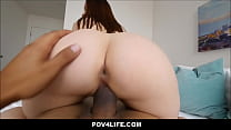 Young Sexy Brunette Big Butt POV Thumbnail