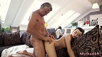 Young and old xxx  lesbian seduced and strap on fucked Thumbnail