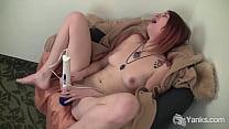 Tattooed amateur Yanks honey Sallycat masturbat...