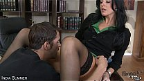 Brunette India Summer fuck a big prick's Thumb