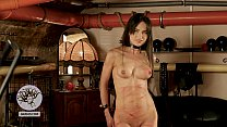 Natalie Gold tortured in a BDSM chamber