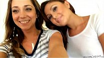 Ariana Marie and Remy LaCroix at Sextape Lesbians's Thumb