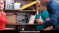 Hot Shoplifters m. Christie Stevens And Her You...