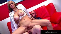 Milf of the Year Julia Ann, stars as a Horny Hot Tutor who gives her student a blowjob, gets fucked & just wants him to cum all over her! See the FULL VIDEO & HER LIVE at JuliaAnnLive.com! صورة