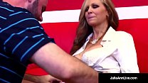 Milf of the Year Julia Ann, stars as a Horny Hot Tutor who gives her student a blowjob, gets fucked & just wants him to cum all over her! See the FULL VIDEO & HER LIVE at JuliaAnnLive.com!'s Thumb