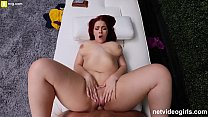 Redhead PAWG Creampied During Calendar Audition صورة