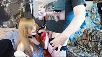 GamerGirlRoxy Sucking Lees Cock With Blue Lipstick On صورة