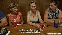 Czech Wife Swap - Hairy Woman Swap her BF Thumbnail