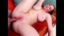 Hot blonde takes hard dick in her asshole from ...