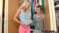 18yo Blonde Amateur In Her First Sex Video