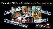 Watch Amanda und Julia zeigen geile Playboy Fick-Orgie und werden gleich doppelt in Mund und Möse gefickt bis der Saft spritzt preview