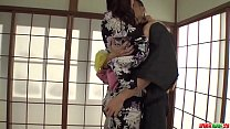 Hot japan girl Yui Oba get pleasure from play w...