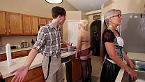 Watch Mom and Stepsis Threesome after brainwash - Leilani Lei Fifi Foxx preview