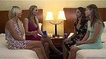 Watch Tanya Tate and a newbie lesbian Alice March - Girlfriends Films preview