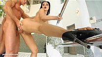 Messy creampie scene with superhot Aletta Ocean from All Internal's Thumb