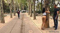 Spanish slut Pamela Sanchez butt naked made to ...