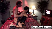 Romi Rain fucks a lucky dude's Thumb