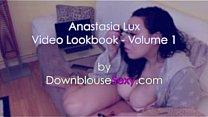Anastasia Lux - Video Lookbook 1 massive swinging tits brunette bbw's Thumb