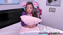 Petite Teen Gets Fucked by Step-Dad on a Spooky...