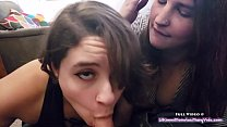 Watch Amateur girl team up on small cock preview