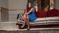 Pantyhosed milf Natasha Belinsky from the US st...