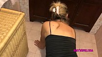 Milf buggered in the bathroom while looking for...