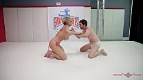 Grappler Dee Williams puts the moves on Jay West in an all-out mixed gender match Thumbnail