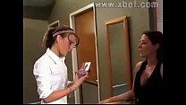 girls first lesbian strapon