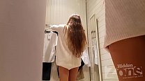 Voyeur in the changing room Thumbnail