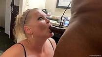 Sexy Busty Blonde Curvy MILF/Pawg Sucks Dick An...