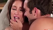 Watch Hot milfs tits rocked by awesome cock preview