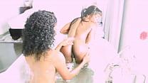 lesbo sex - bath nubian porn