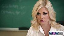 Hot mom gets fucked by horny teacher