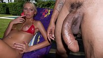 BANGBROS - This Tiny Lil' Thing Takes A Curved Big Black Dick In The Pussy Like A Doctah