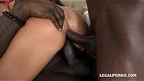 Blonde nymphos Blanche Bradburry & Nikky Dream get Blacked Together Thumbnail