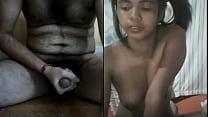 Skypw fun with indian babe